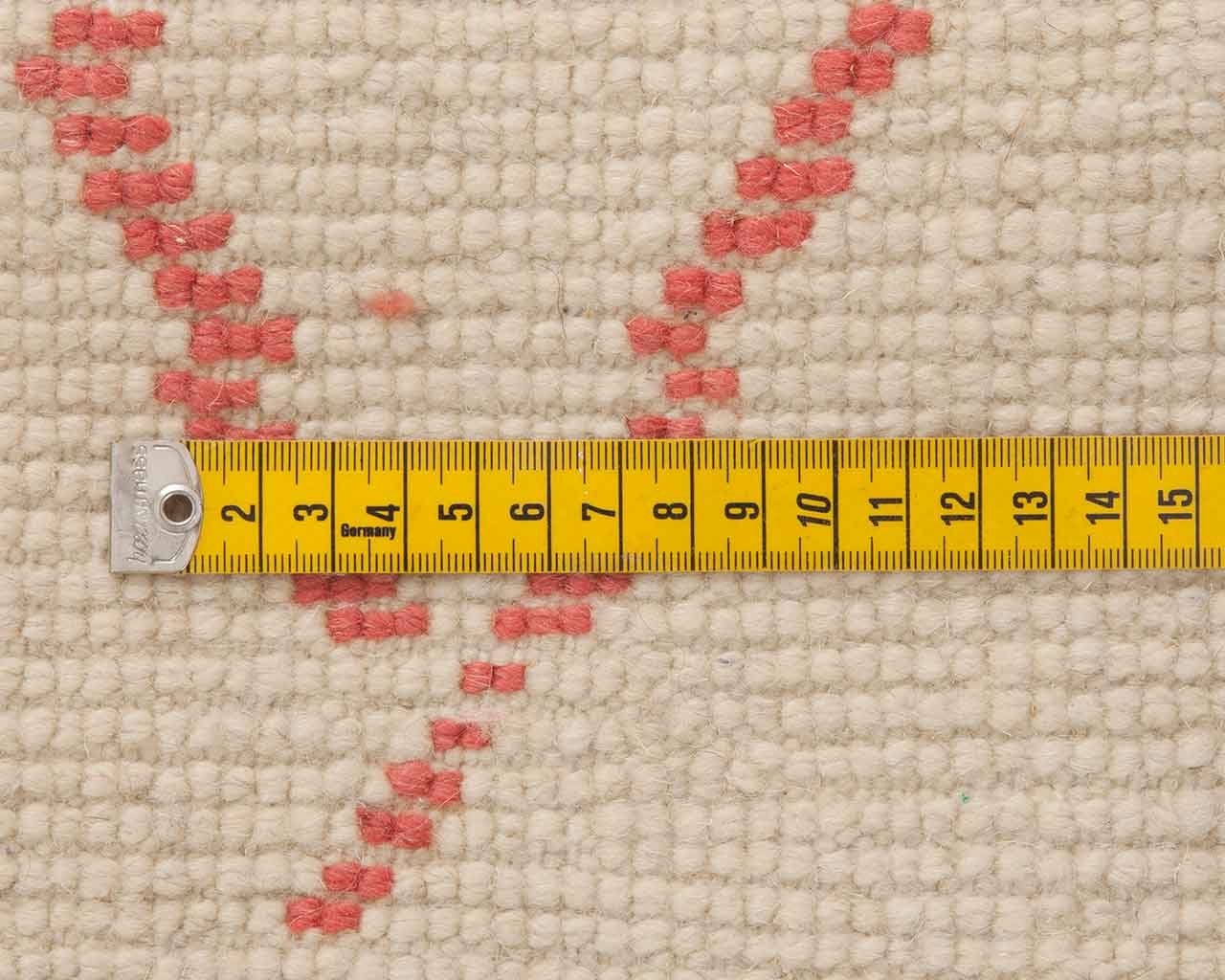 tapeline knots rugs handknotted measurement 1